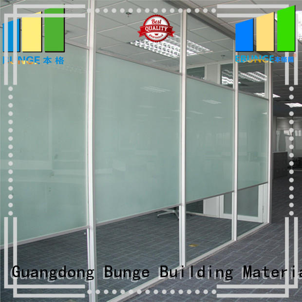 EBUNGE office design glass walls series for conference room
