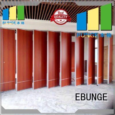 acoustic movable walls factory direct supply for hotel