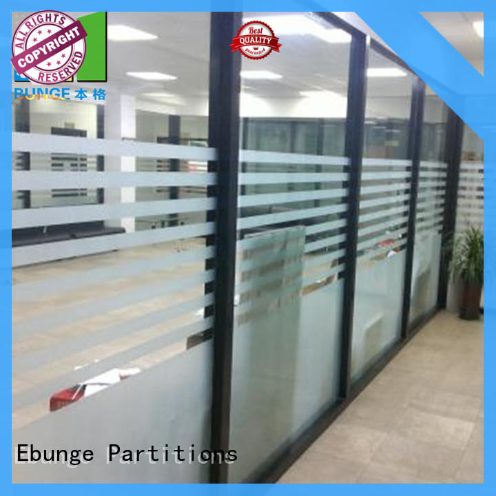 double tempered glass partition wholesale for shop