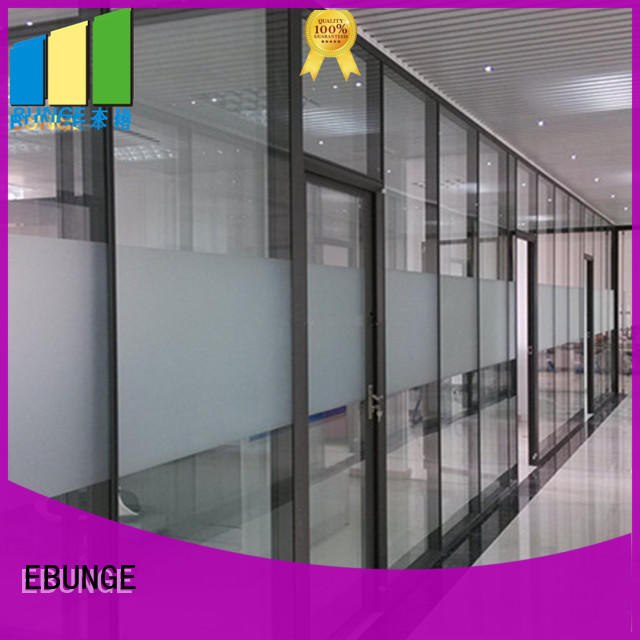 EBUNGE glass partition directly sale for office