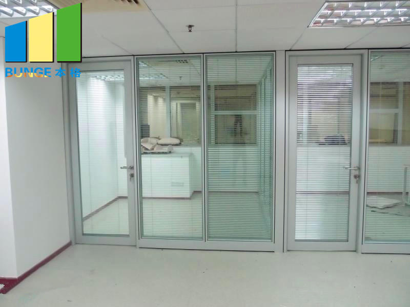EBUNGE glazed office glass partition design wholesale for office
