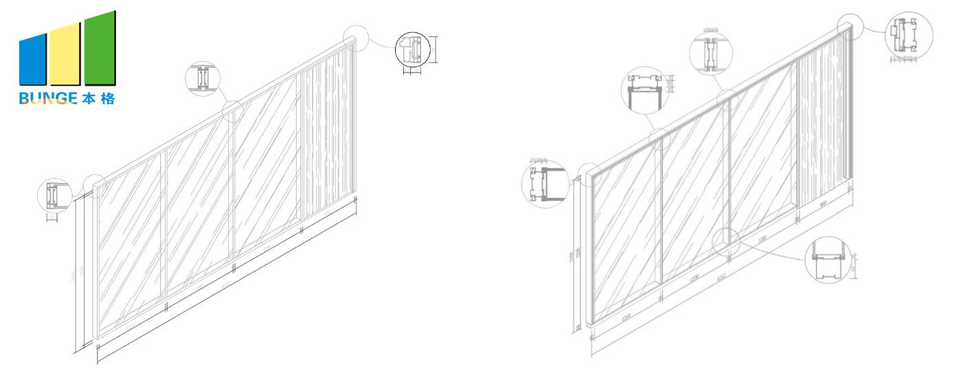 Bunge-Professional Glass Partition Glass Door Partition Supplier-2