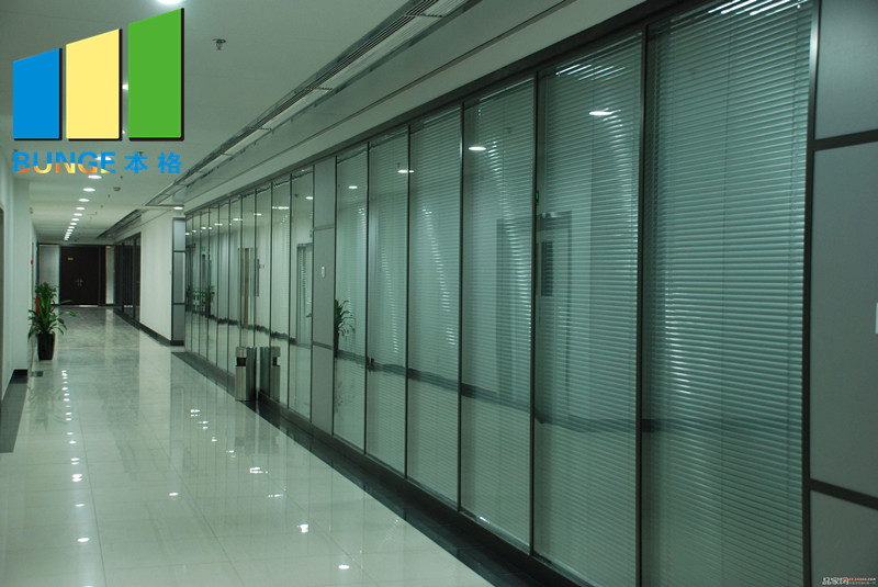 Bunge-Glass Partition Manufacture | Office Single Double Tempered Clear Glass-3