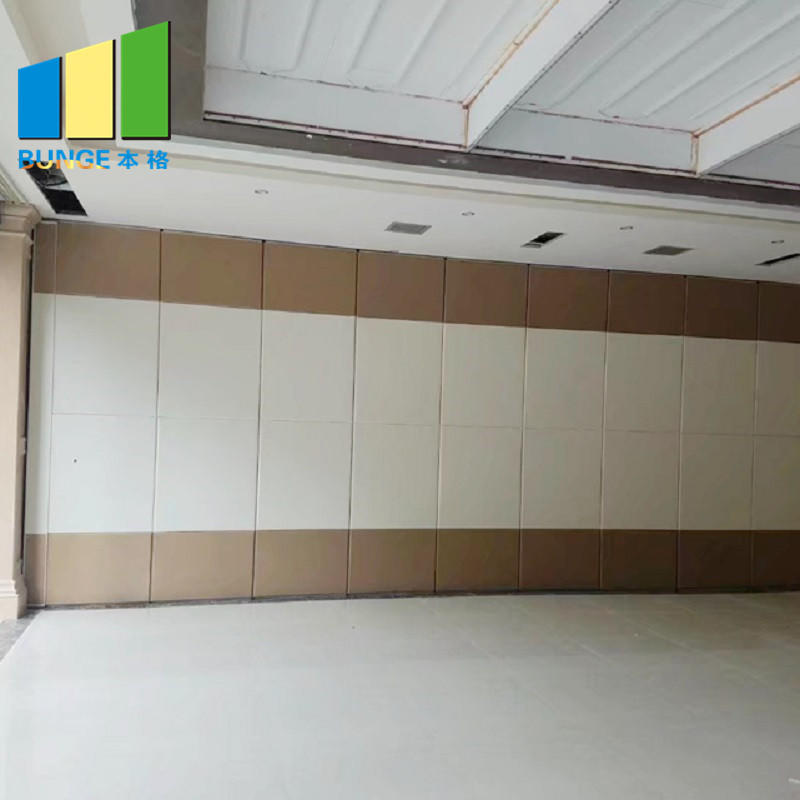 Acoustic Moveable Foldable Sound Proof Partition Walls for Conference Room-movable wall, folding partition,operalbe wall-EBUNGE