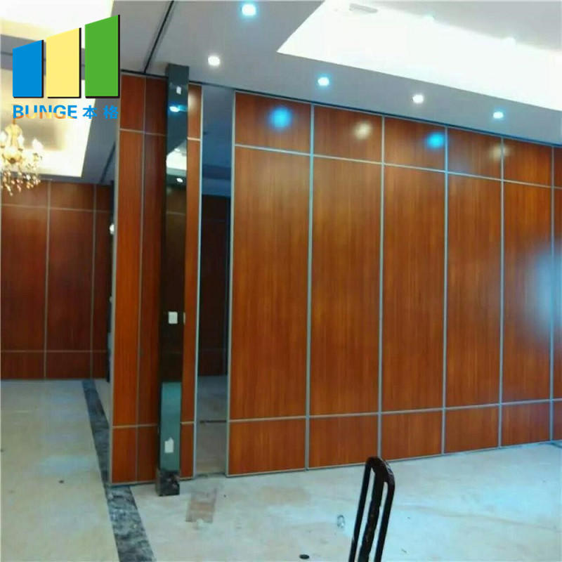 Acoustic Moveable Foldable Sound Proof Partition Walls for Conference Room-EBUNGE