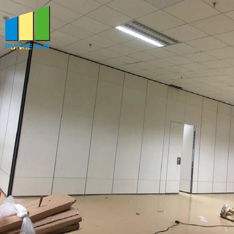 Banquet Hall Foldable Partition Walls Panels Acoustic Sliding Room Partitions