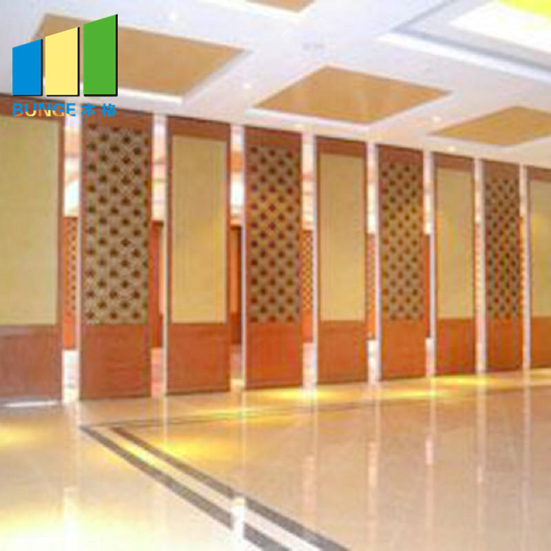 Conference Room Fire Resistant Movable Acoustic Partition Walls