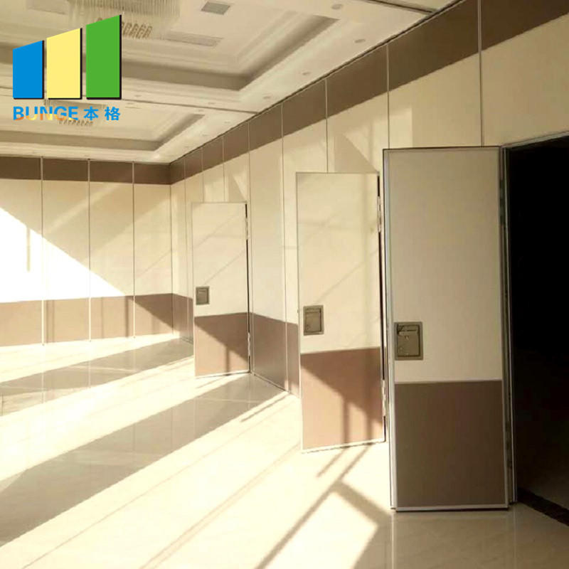 Conference Room Fire Resistant Movable Acoustic Partition Walls-EBUNGE