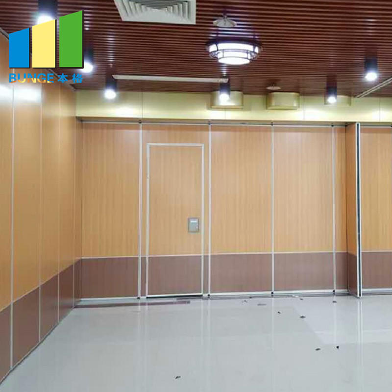 Banquet Hall Gypsum Board Wood Wall Partitions Removable Sliding Partition Walls