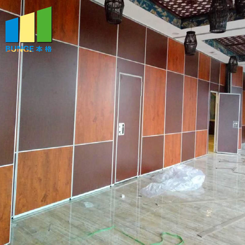 Movable Sound Proof Partition Panels Acoustic Folding Operable Walls for Function Hall