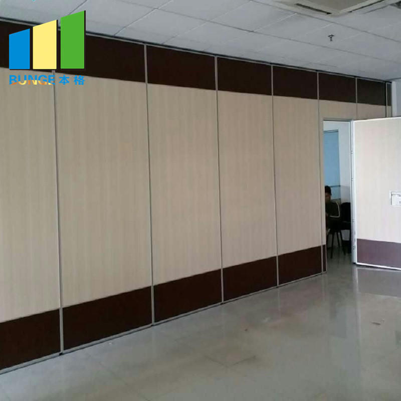 Hotel Acoustic Movable Sliding Folding Partitions Operable Sound Proof Partition Walls-EBUNGE