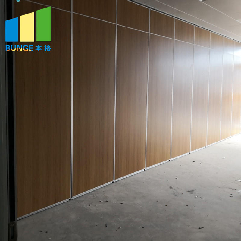Hotel Acoustic Movable Sliding Folding Partitions Operable Sound Proof Partition Walls