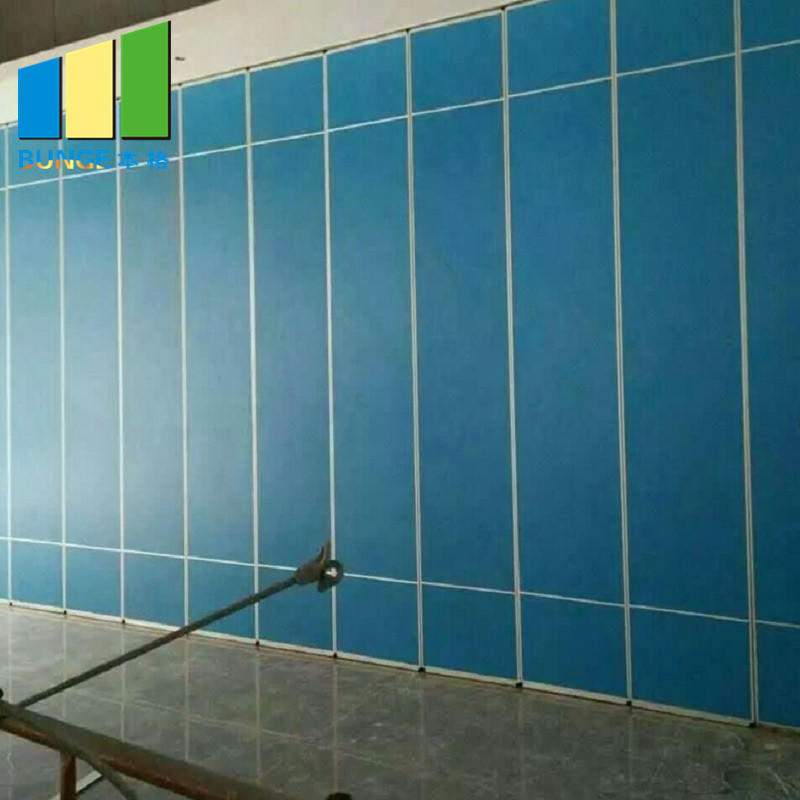 Conference Room Soundproof Folding Partition Walls USA Standard Ballroom Removable Wall Partitions