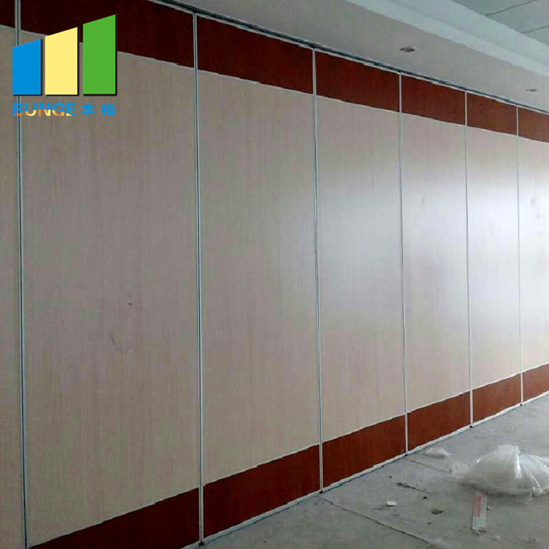 Commercial Office Room Modular Partitions Sound Proofing Sliding Partition Wall Manufacturer