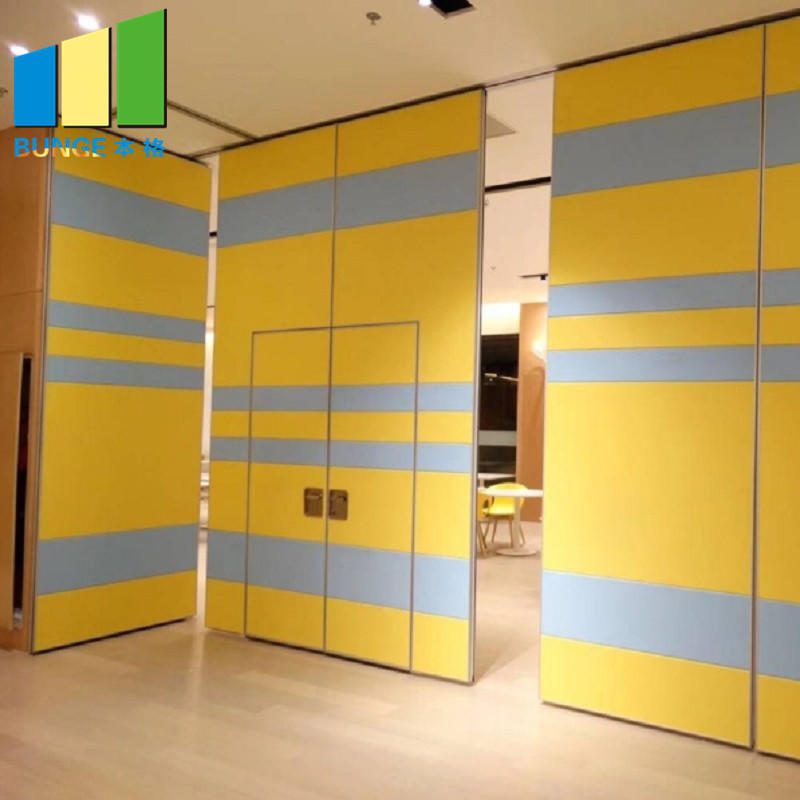 Hotel Active Sliding Screen Partition Doors Mobile Sound Proofing Folding Room Partitions for Office Meeting room