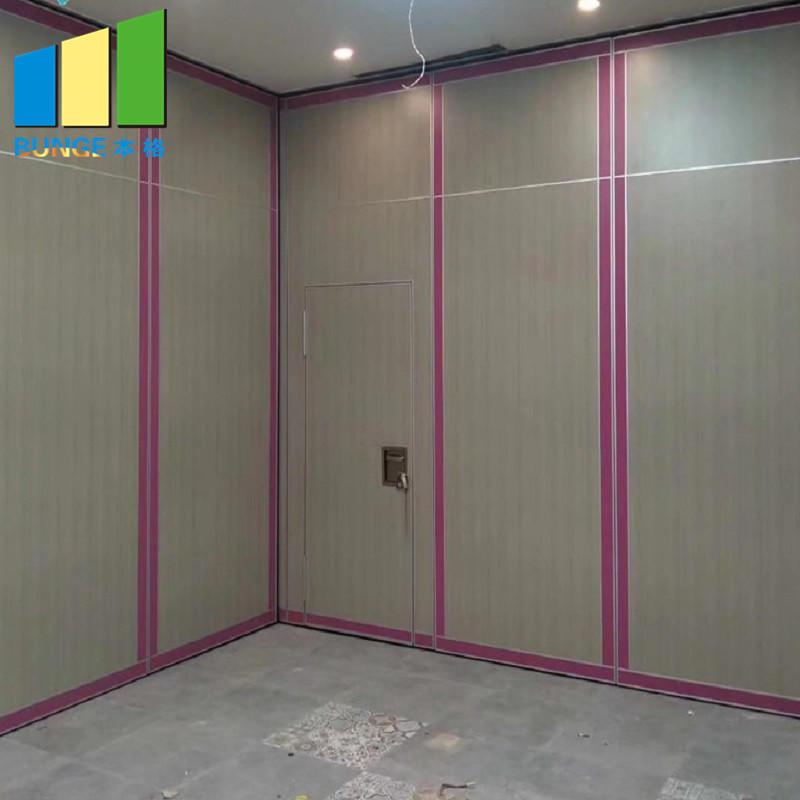 product-EBUNGE-School Acoustic Accordion Door Partitions Classroom Folding Door Sliding Wall Partiti