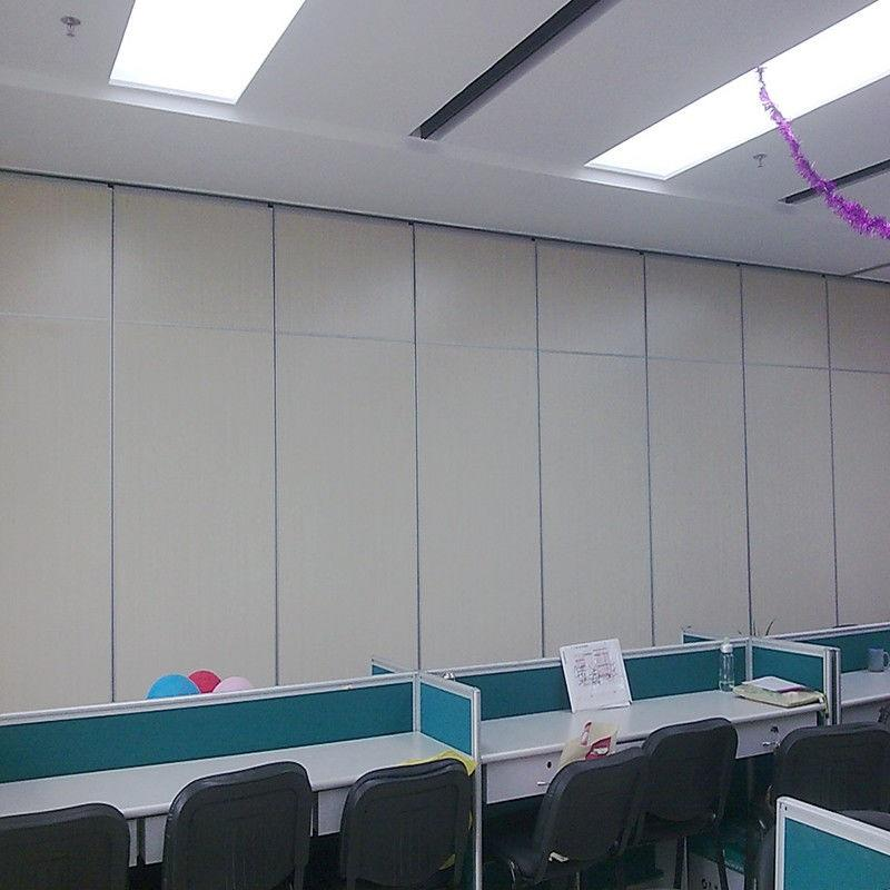 Conference Hall Folding Sliding Wall Partitions Cheap Office Acoustic Movable Walls Price on Wheels-EBUNGE