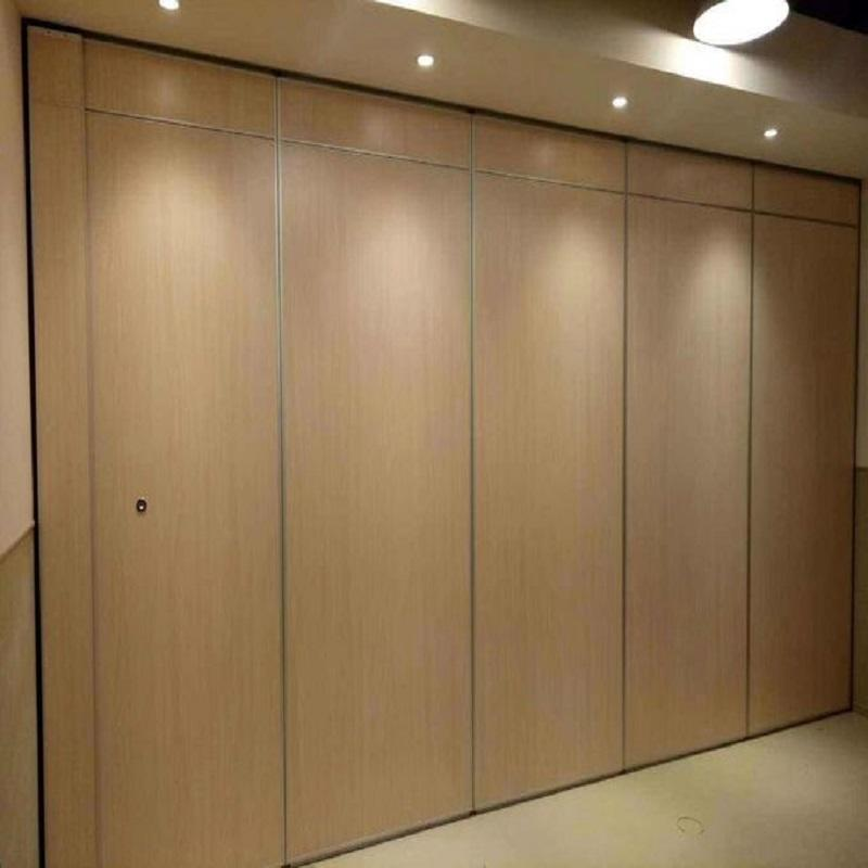 Banquet Hall MDF Sliding Room Partitions Design Office Removable Soundproof Folding Partition Walls