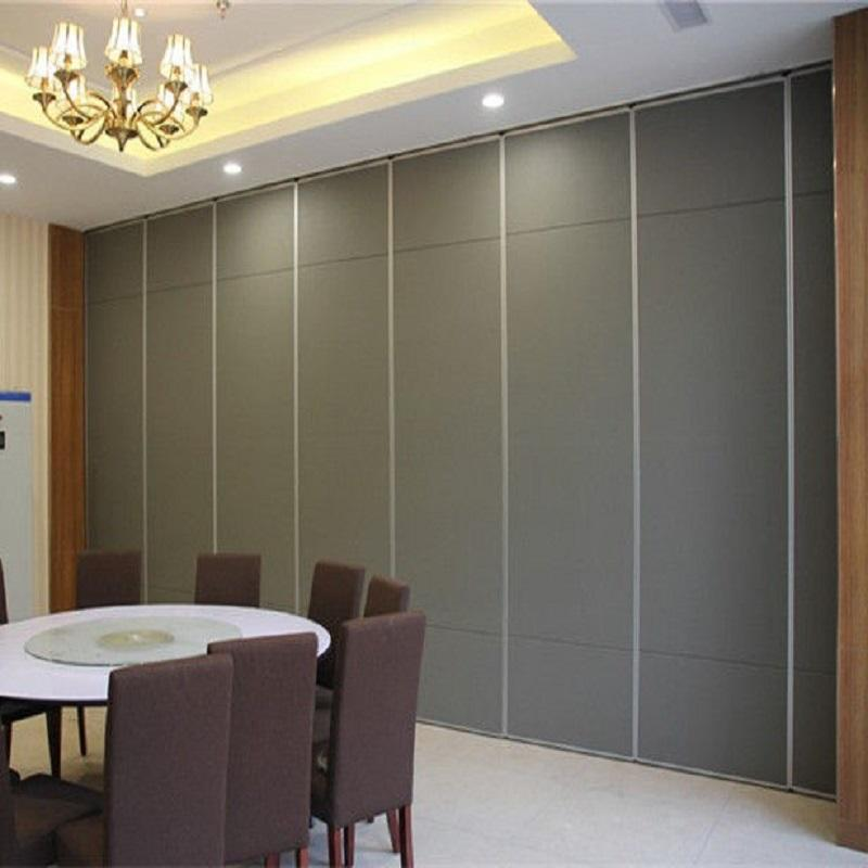 Conference Room Removable Partitions Panel Hotel Acoustic Movable Operable Walls-EBUNGE