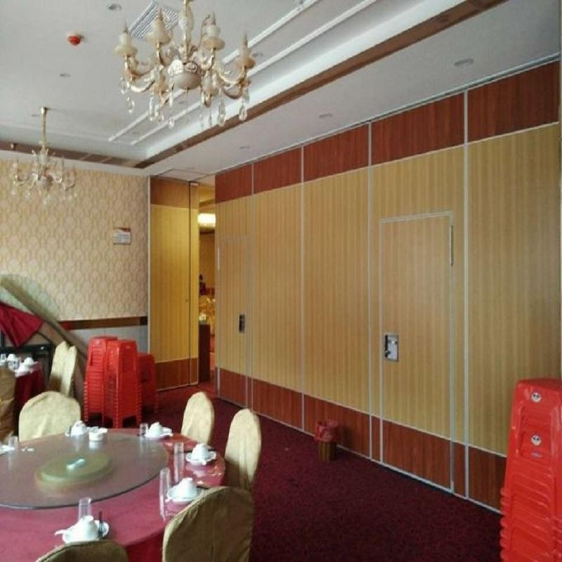 Soundproof Operable Wall Movable Office Partitions Acoustical Room Divider for Conference Room