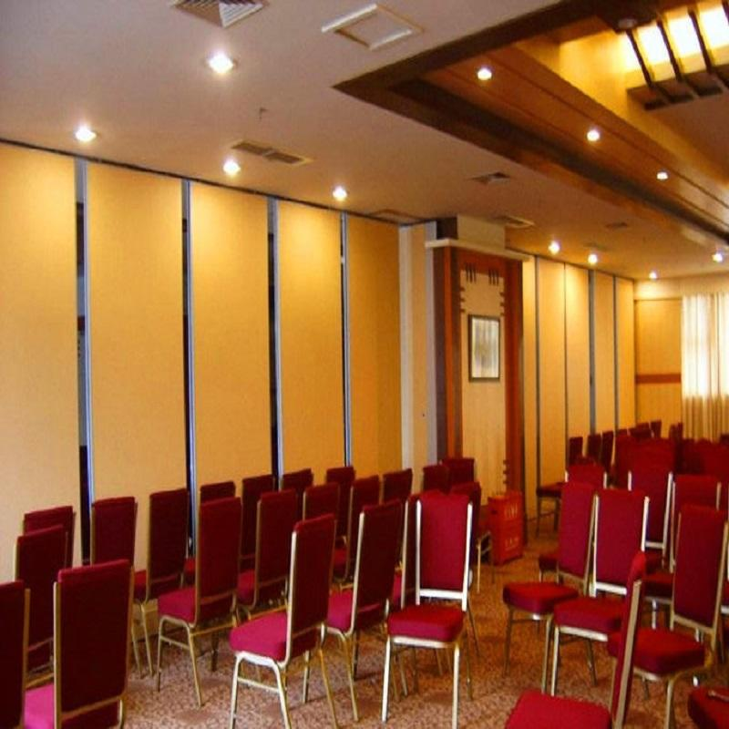 Conference Room Sliding Folding Movable Doors Acoustic Classroom Partitions for Meeting Room