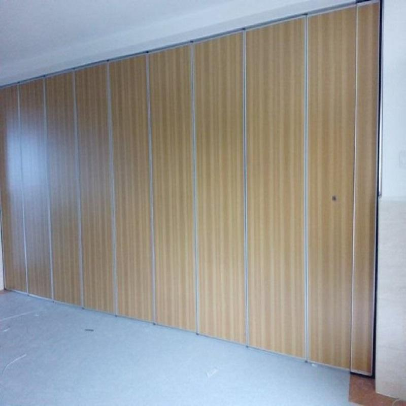 Hotel Sound Proof Acoustic Partitions Temporary Sliding Folding Walls Movable Partitions for Banquet Hall