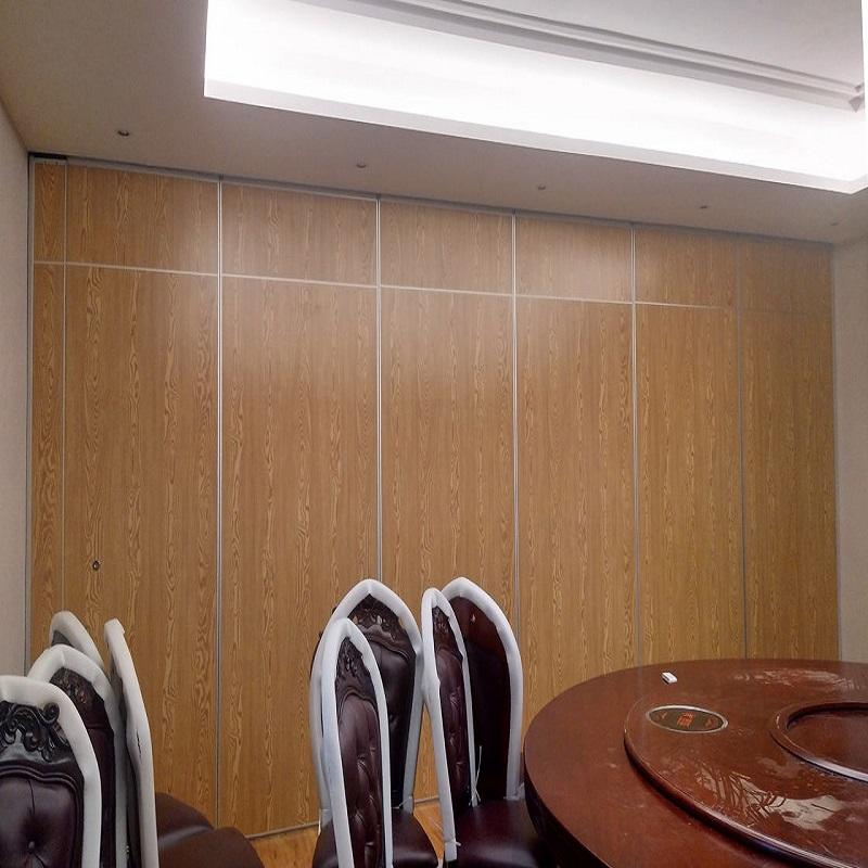 Conference Room Movable Acoustic Walls Sliding Folding Classroom Mobile Partitions-EBUNGE