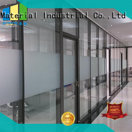 EBUNGE glass partition customized for banquet hall