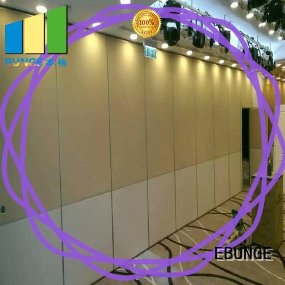 real hall partition factory for conference room