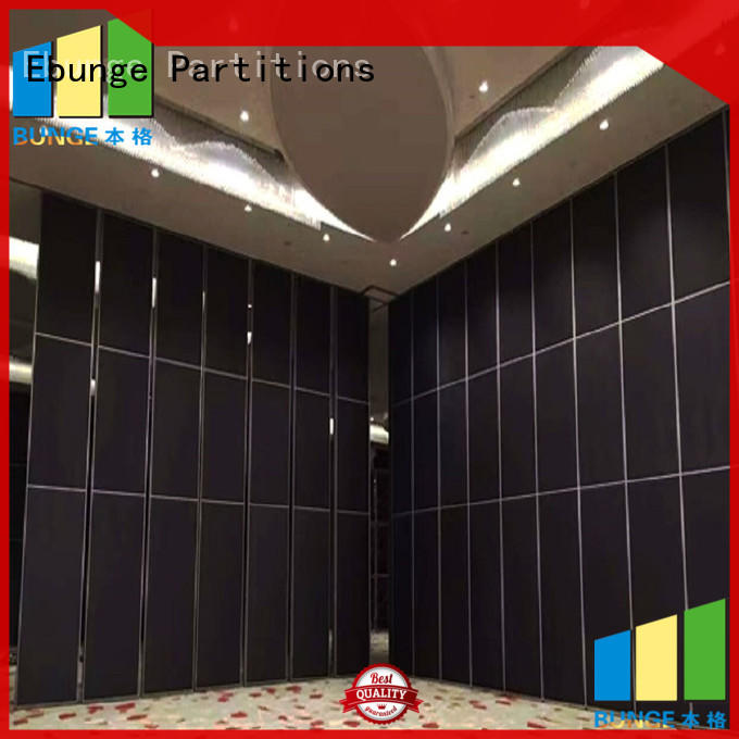 EBUNGE aluminum rolling partition wall directly sale for function hall