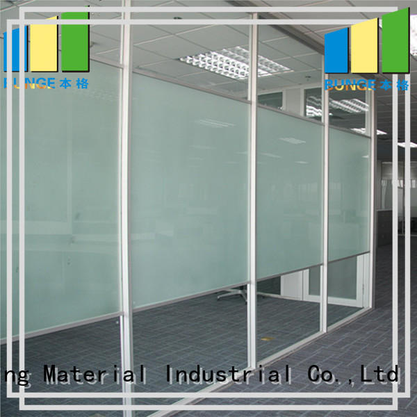 partition wall with glass wal Bunge Brand office glass partition design