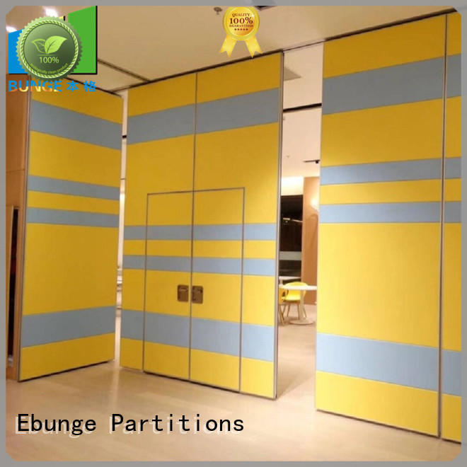 EBUNGE partition wall types design for restaurant