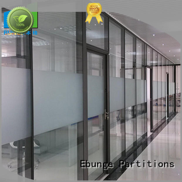 glazed glass partition wholesale for banquet hall