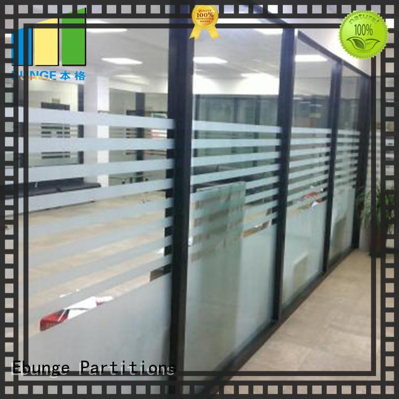 EBUNGE toughened glass partition wholesale for shop