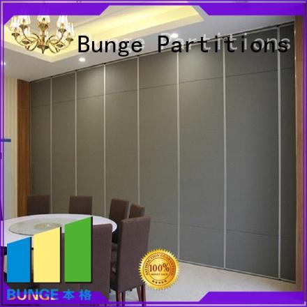 BUNGE movable walls factory direct supply for meeting room