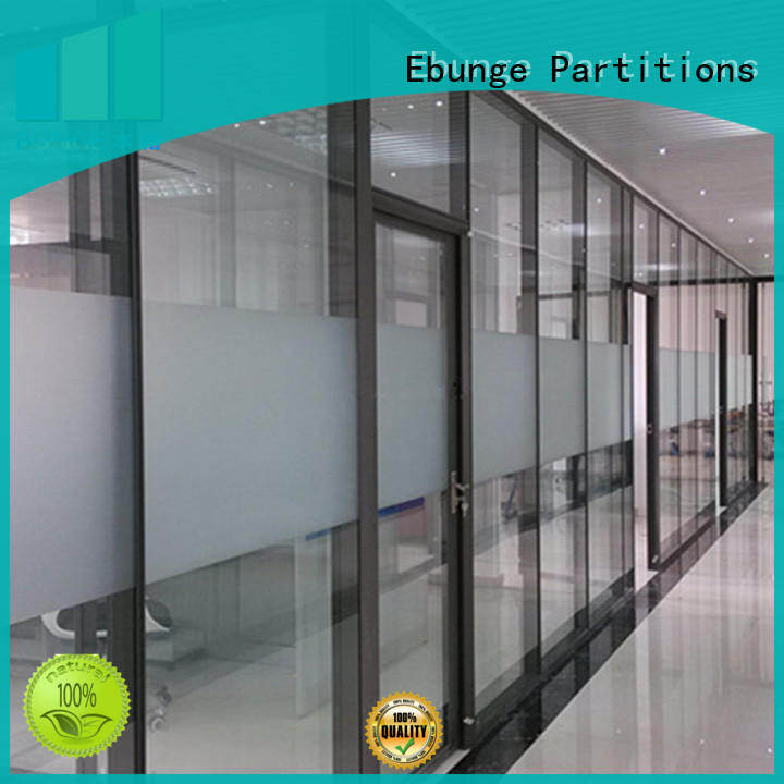 EBUNGE modular office glass partition design customized for office