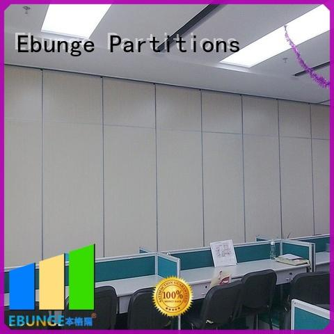 EBUNGE wall partition with door manufacturer for conference room