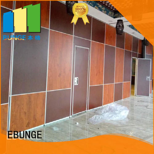 EBUNGE rolling partition wall series for function hall
