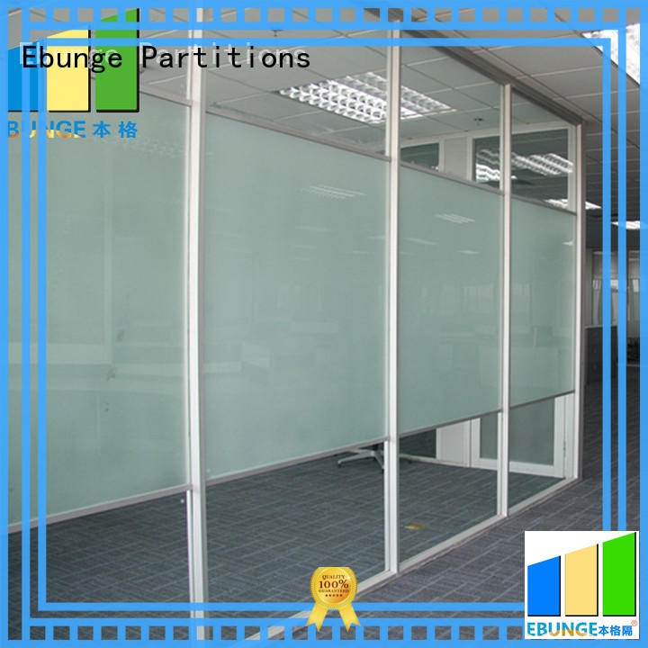 EBUNGE decorative glass partition directly sale for office