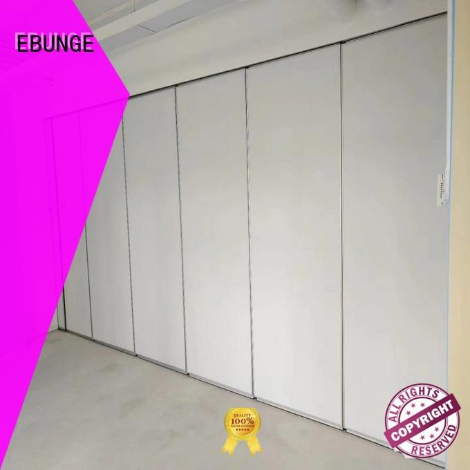 EBUNGE demountable movable walls customized for meeting room