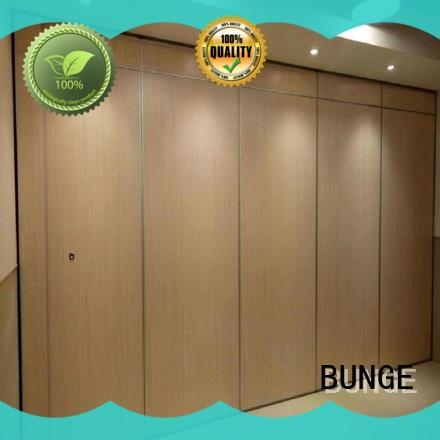 BUNGE acoustic movable walls series for office