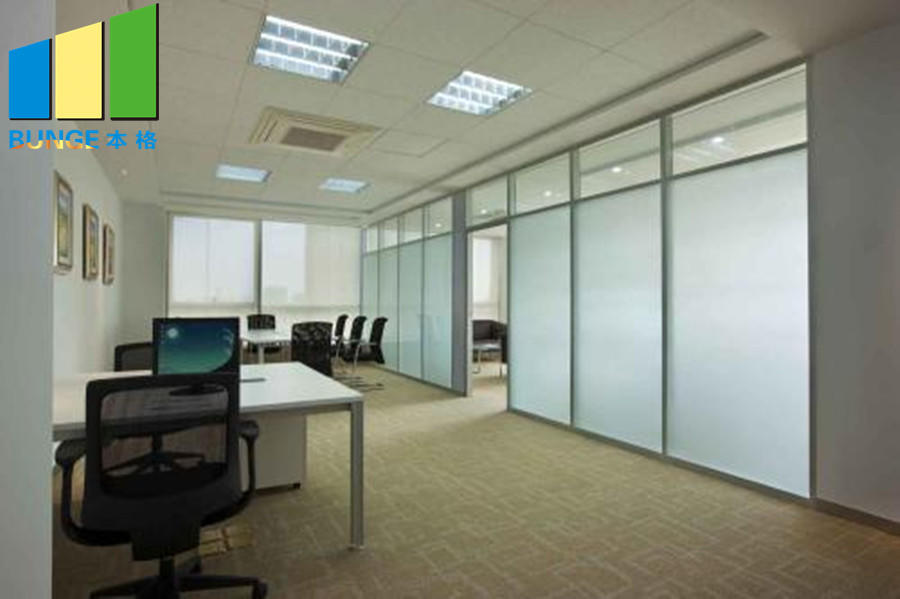 glass partition customized for banquet hall-1