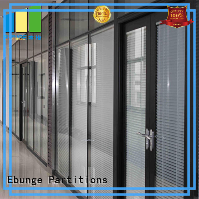 modular toughened glass partition wholesale for office