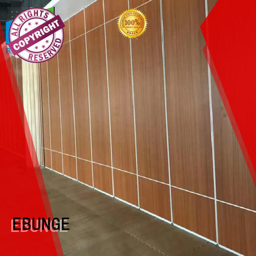 EBUNGE durable movable partition wall supplier for hotel