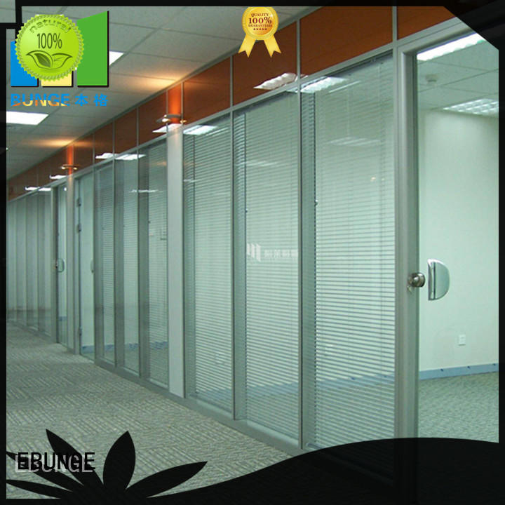 EBUNGE flexible office design glass walls factory direct supply for shop