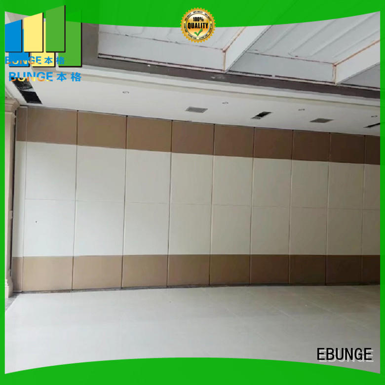 EBUNGE movable walls manufacturer for restaurant