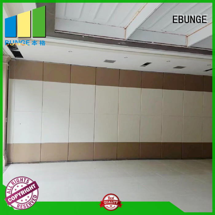 EBUNGE modern glass partition walls wholesale for restaurant