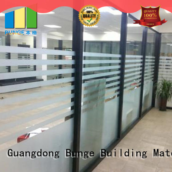 double tempered glass partition directly sale for conference room