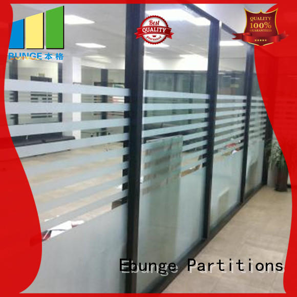 decorative office design glass walls manufacturer for conference room