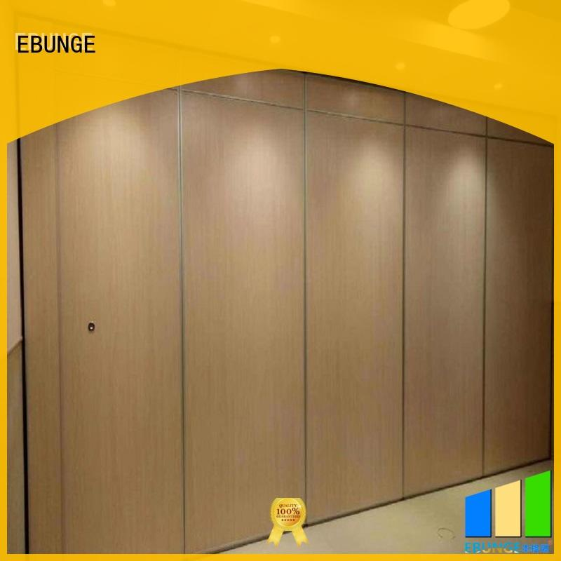 lightweight wall partition with door series for conference room
